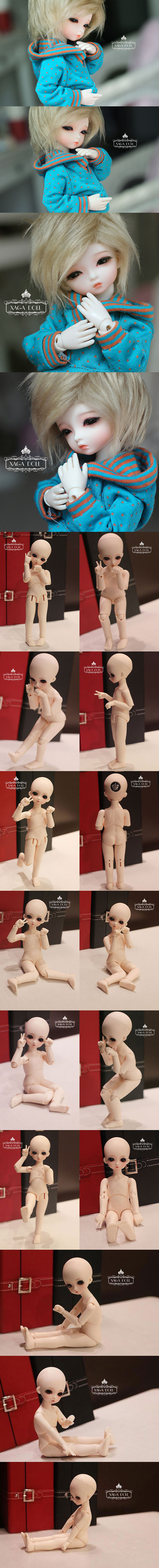 BJD kiki-2 17.5cm Ball-Jointed Doll