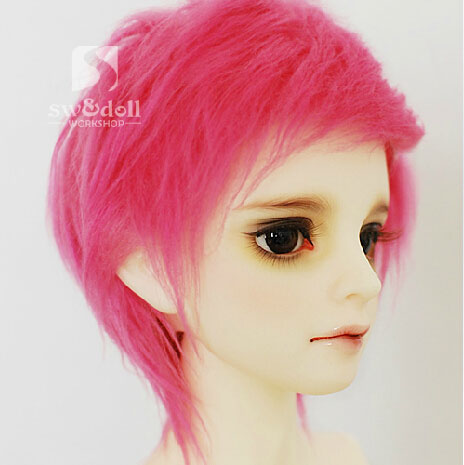 BJD Wig Red 80 for SD/MSD/YO-SD/BB Size