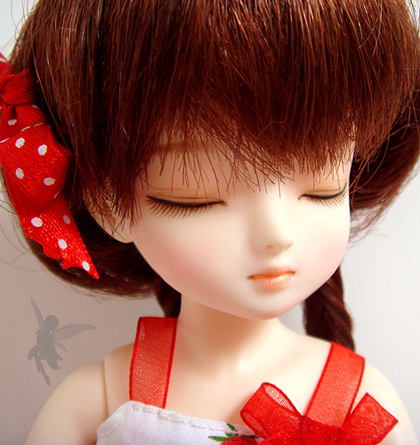 BJD Puff 16cm Girl Ball-jointed Doll