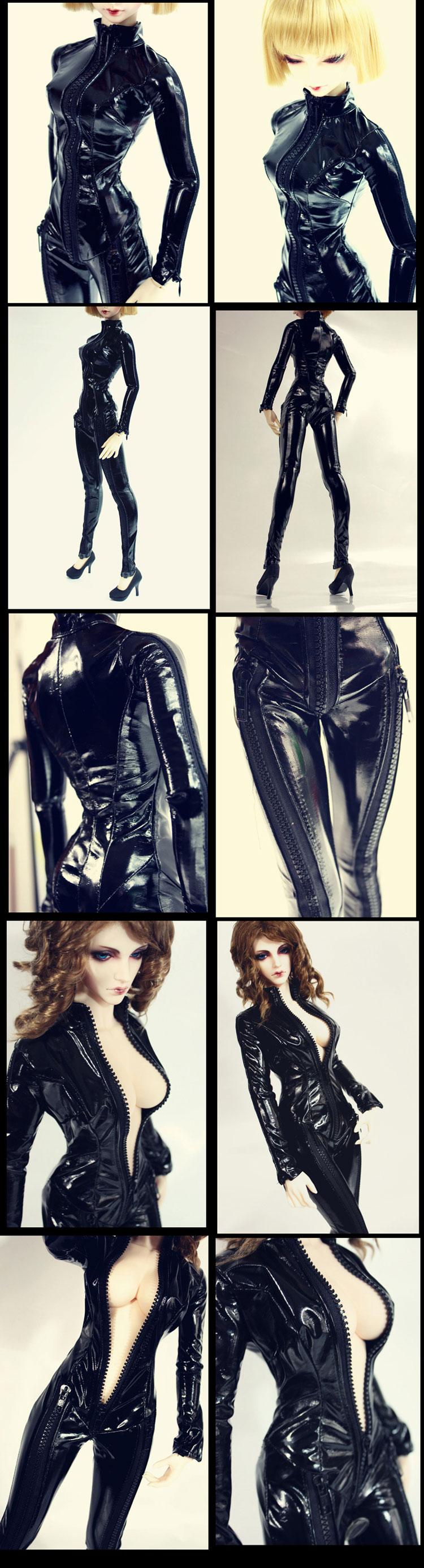 Bjd Clothes black leotards for MSD/SD10/SD13/SD16 Ball-jointed Doll