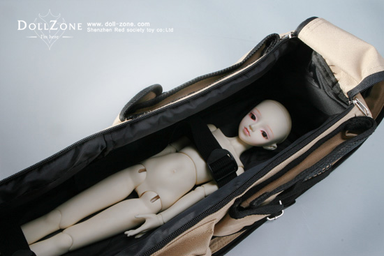 Black Package for MSD BJD (Ball-jointed doll) Bag_1b