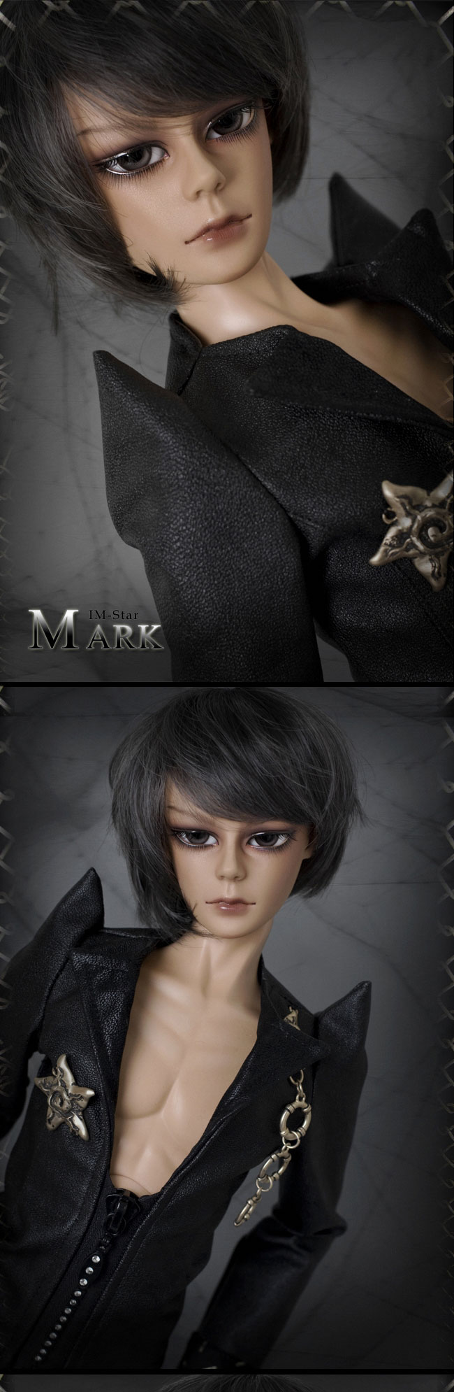 BJD Mark 64cm Boy Ball-jointed Doll