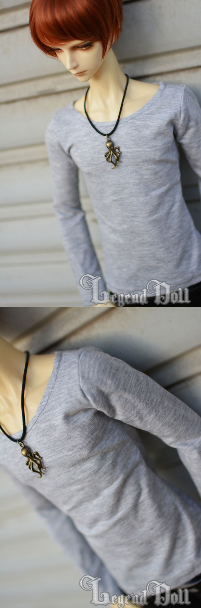 BJD Clothes Shirt A021 for MSD/SD/70cm Size Ball-jointed Doll