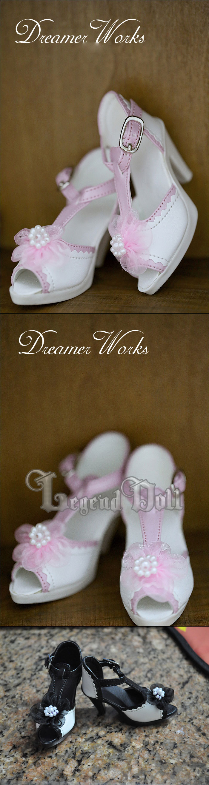 Bjd High Heel Girl Shoes for SD Ball-jointed Doll