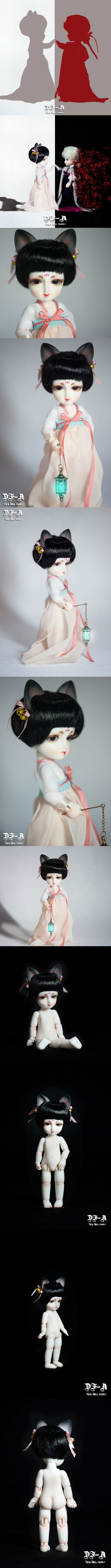 BJD MaoYou 15cm Girl Ball-jointed doll