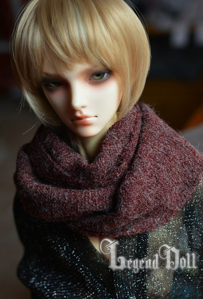 BJD Decoration Muffler Red for 70cm/SD Ball-jointed doll