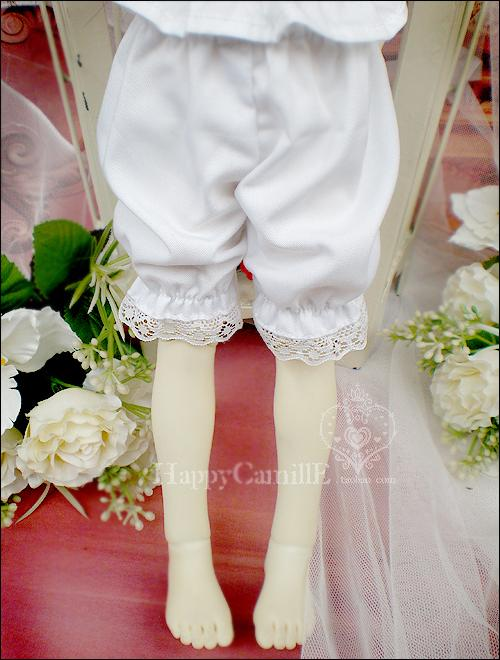 BJD Clothes Pumpkin pants for SD/MSD/Yo-SD Ball-jointed Doll