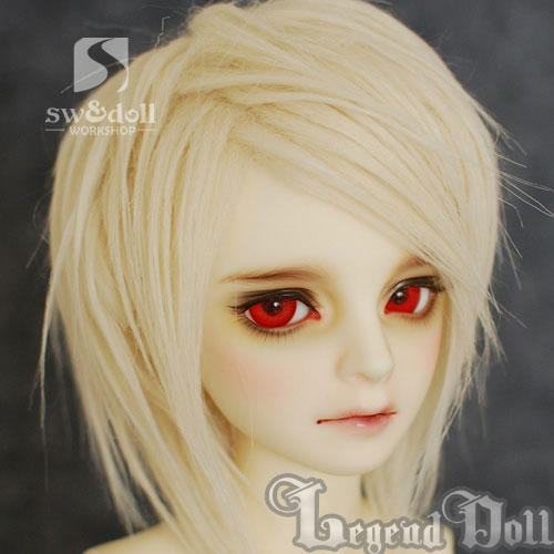 BJD Wig 89 for SD/MSD/YO-SD/BB Size Ball-jointed Doll