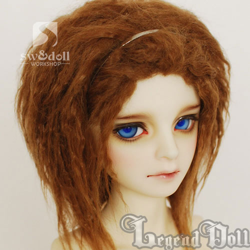 BJD Wig 93 for SD/MSD/YO-SD/BB Size Ball-jointed Doll