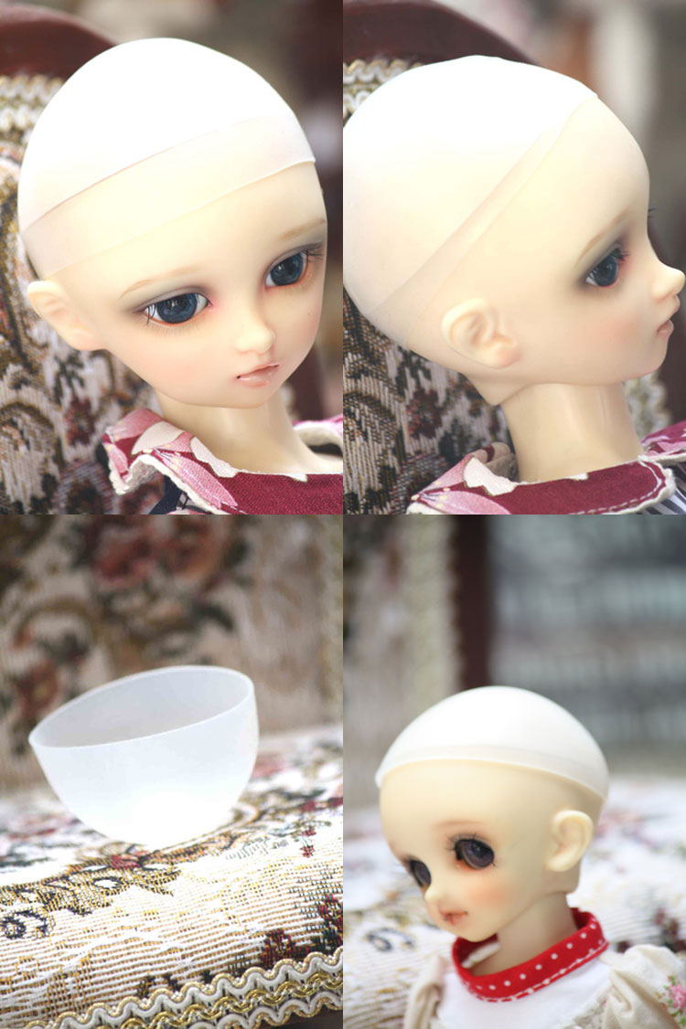 BJD Wig silicon cap for SD/MSD/Yo-SD Ball-jointed Doll