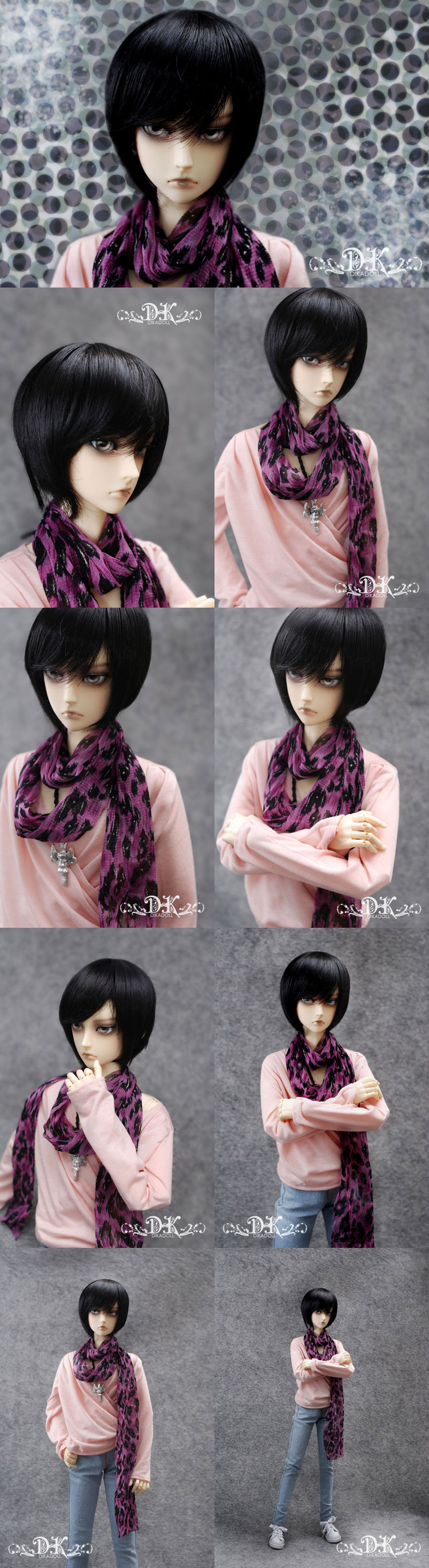 BJD Molin 62cm boy Boll-jointed doll