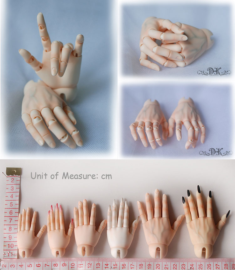 Ball-jointed Hand for 73cm BJD (Ball-jointed doll)