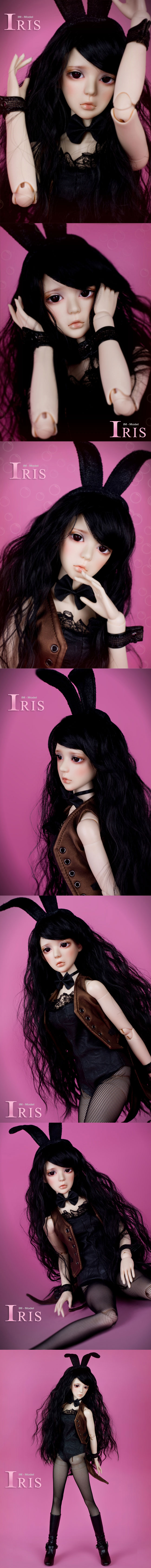 BJD Iris 56cm Girl Ball-jointed Doll