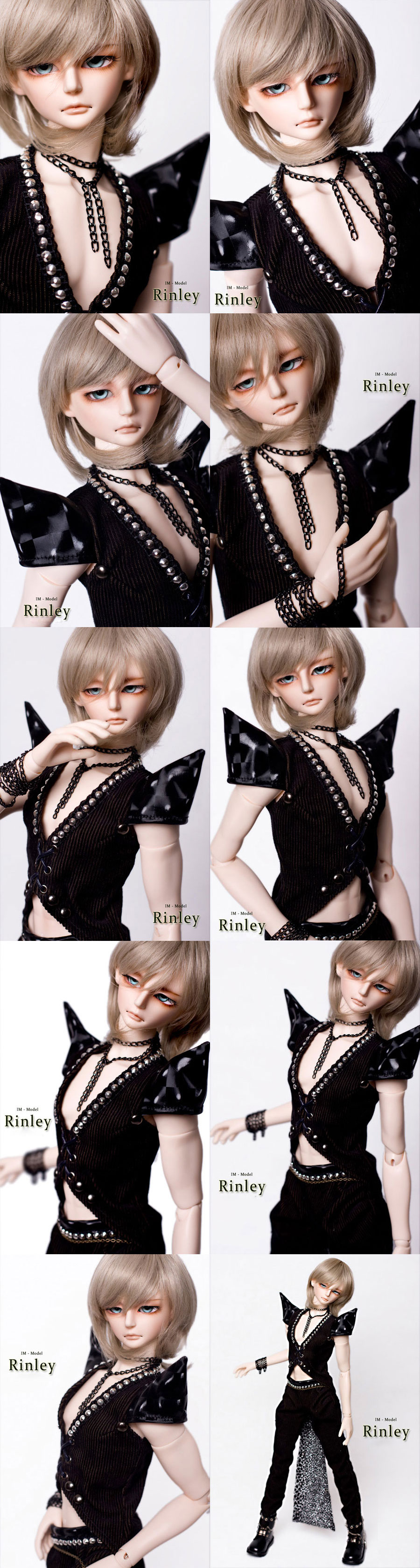 BJD Rinley 58cm Boy Ball-jointed Doll