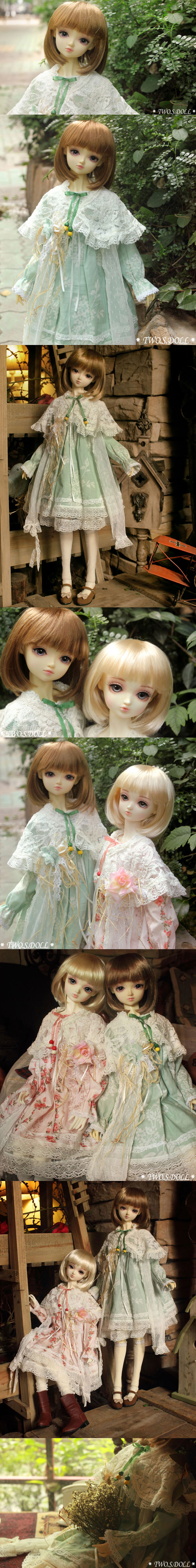 BJD spring travel-Dorean 58cm Girl Ball-jointed doll