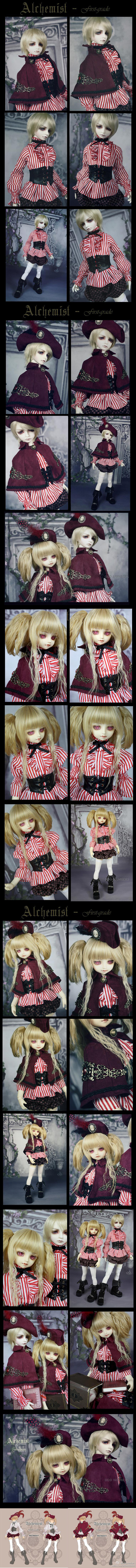 Bjd Clothes Alchemist・Frist grade for MSD, SD10, SD13 Ball-jointed Doll