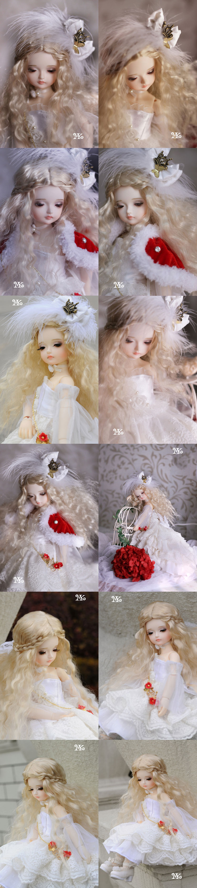 BJD Isabel 27cm Girl Ball-jointed doll