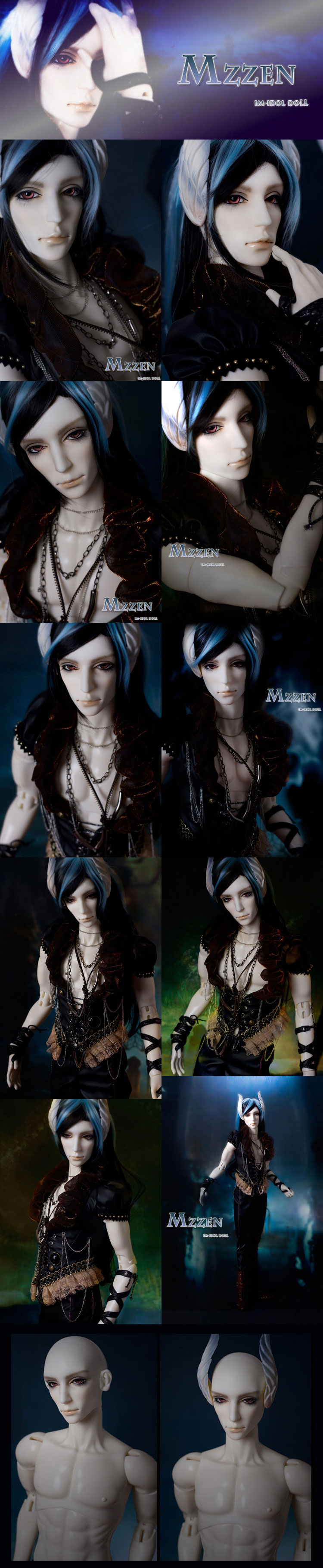 BJD Mzzen 72cm Boy Ball-jointed Doll