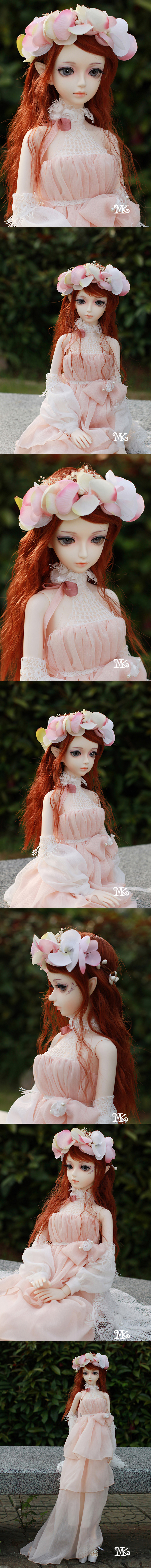 BJD Elisa elves 58cm Girl Ball-jointed doll