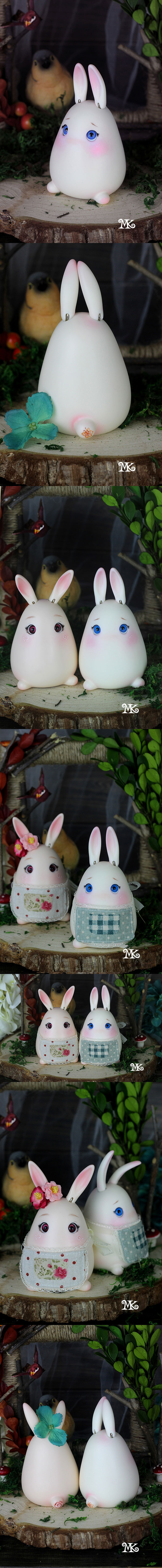 BJD's pet Snowy Rabbit Ball-jointed doll