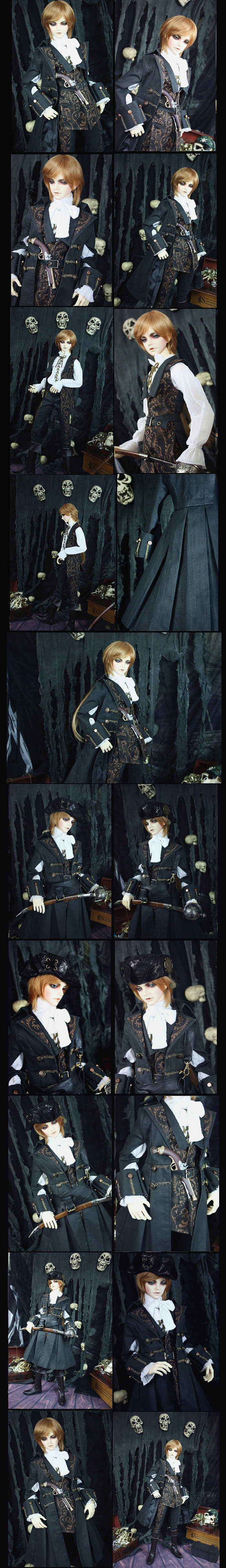 Bjd Clothes Nemesis for MSD Ball-jointed Doll
