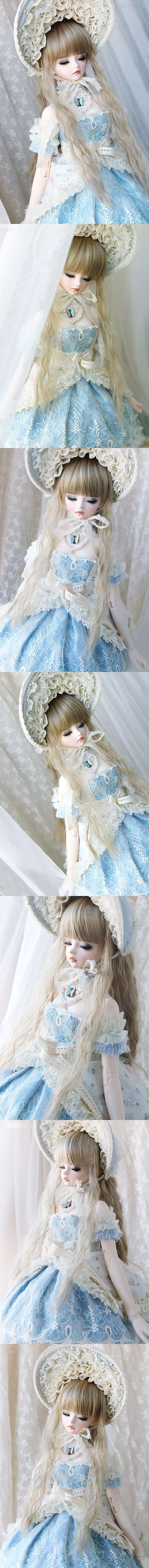 BJD Sleeping Cordelia 60cm Girl Ball-jointed Doll