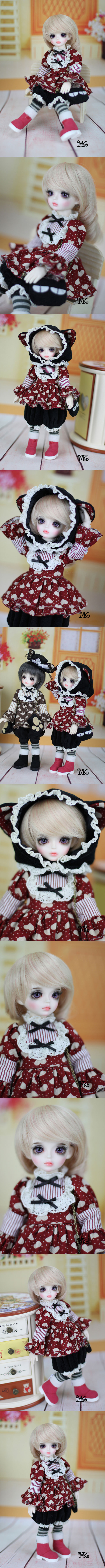 BJD Nelly 27cm Girl Ball-jointed doll