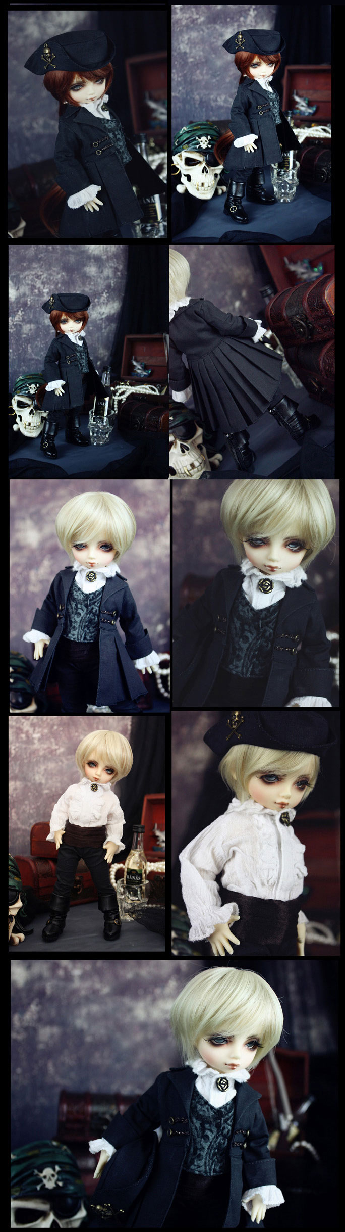 Bjd Pirate Clothes  for YO-SD1Ball-jointed Doll
