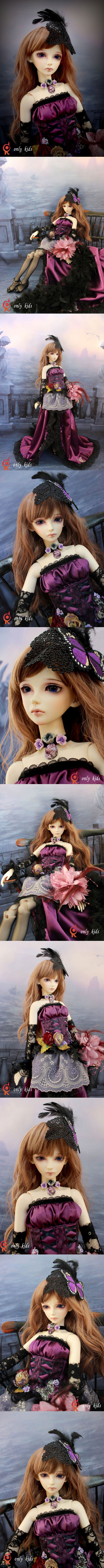 BJD aster Girl 56cm Boll-jointed doll