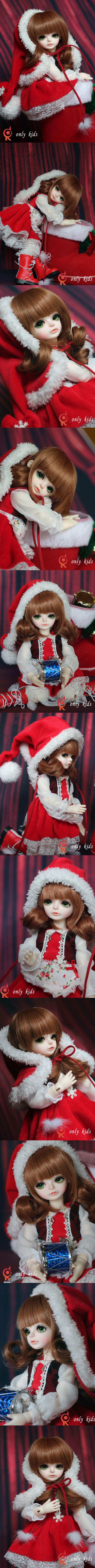 BJD pinecone Girl 27cm Boll-jointed doll