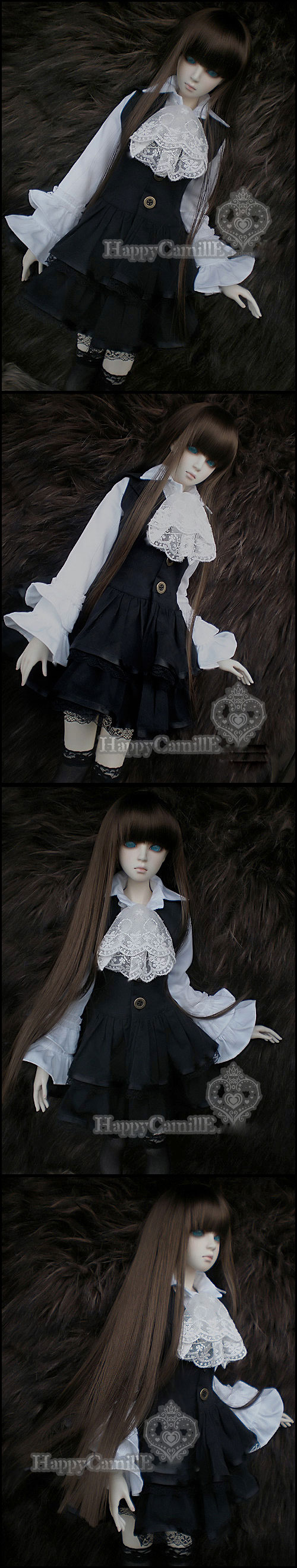 BJD Clothes Noble Costume Set Girl for SD/MSD Ball-jointed Doll