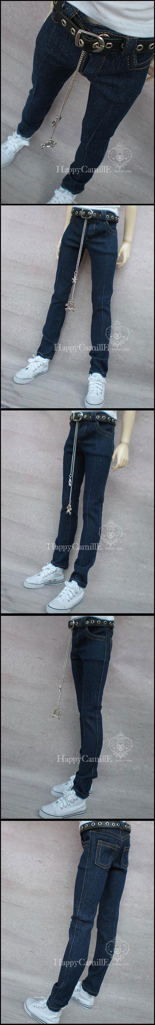 BJD Clothes Jeans Boy for SD Ball-jointed Doll