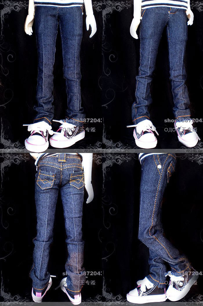 BJD Clothes Jeans Girl for SD Ball-jointed Doll