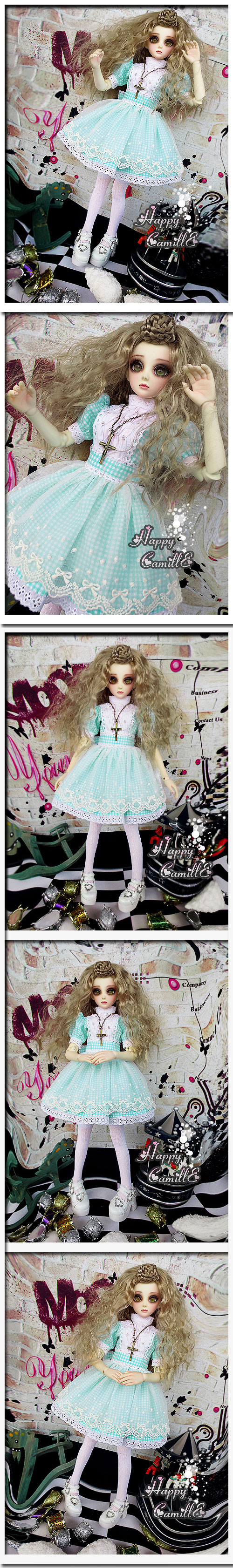 BJD Clothes Fresh Skirt Girl for SD Ball-jointed Doll