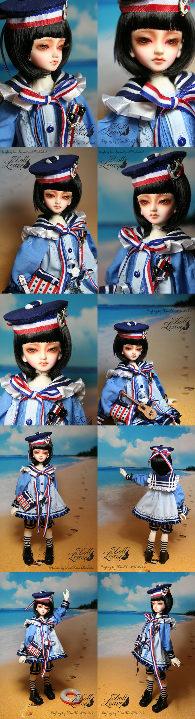 BJD Blue Boy 42cm Boll-jointed doll