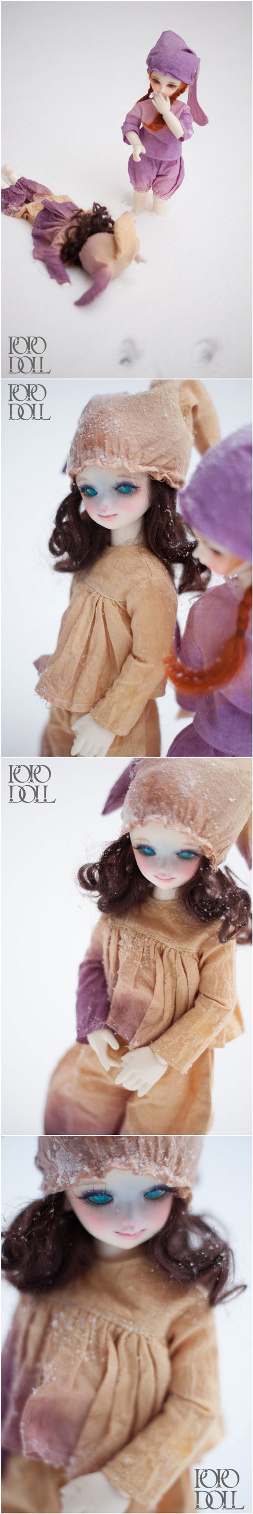 BJD QiQi Boy 30cm Boll-jointed doll