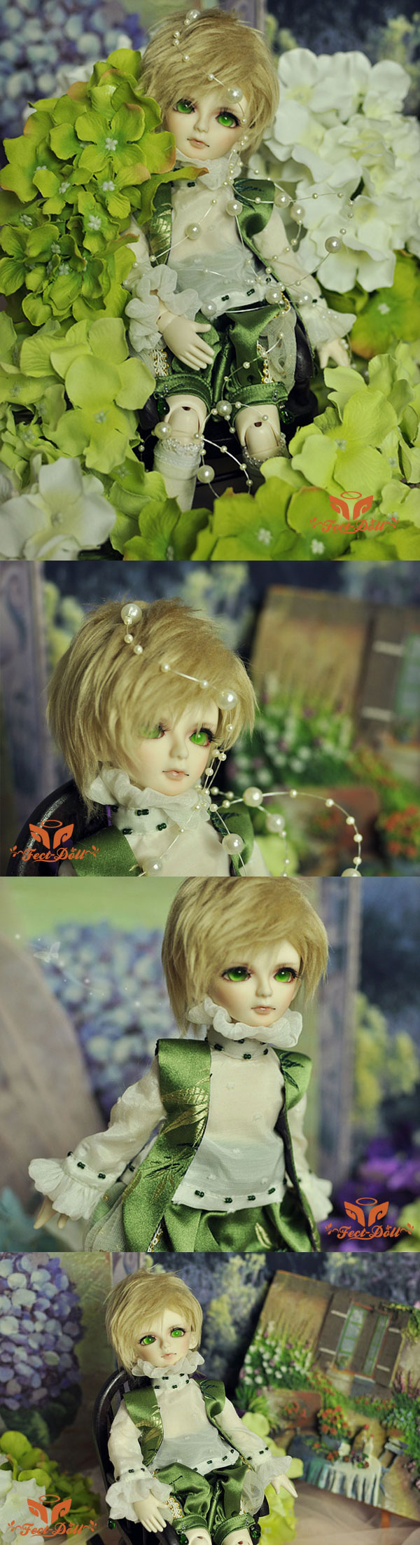 BJD Xia Lafei 28cm Boy Ball-jointed doll