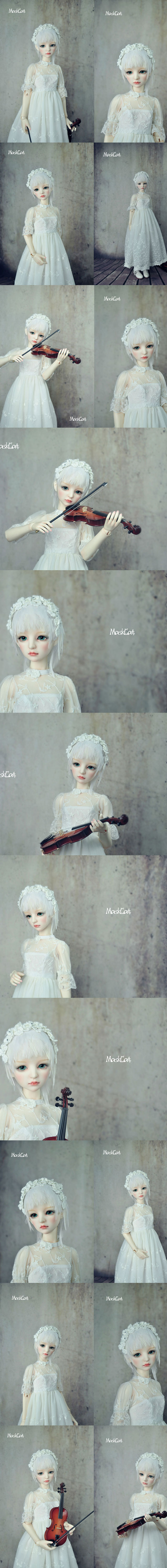BJD Melodie 57cm Girl Ball-jointed Doll