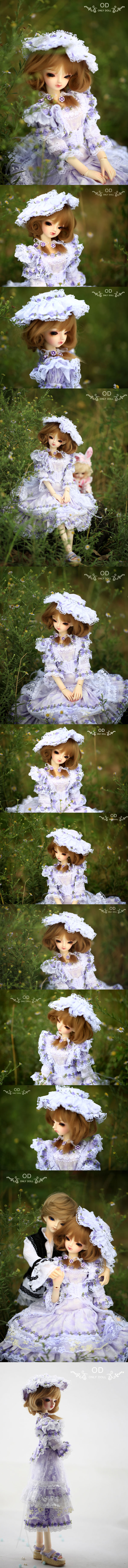 BJD Lucy Girl 43cm Boll-jointed doll