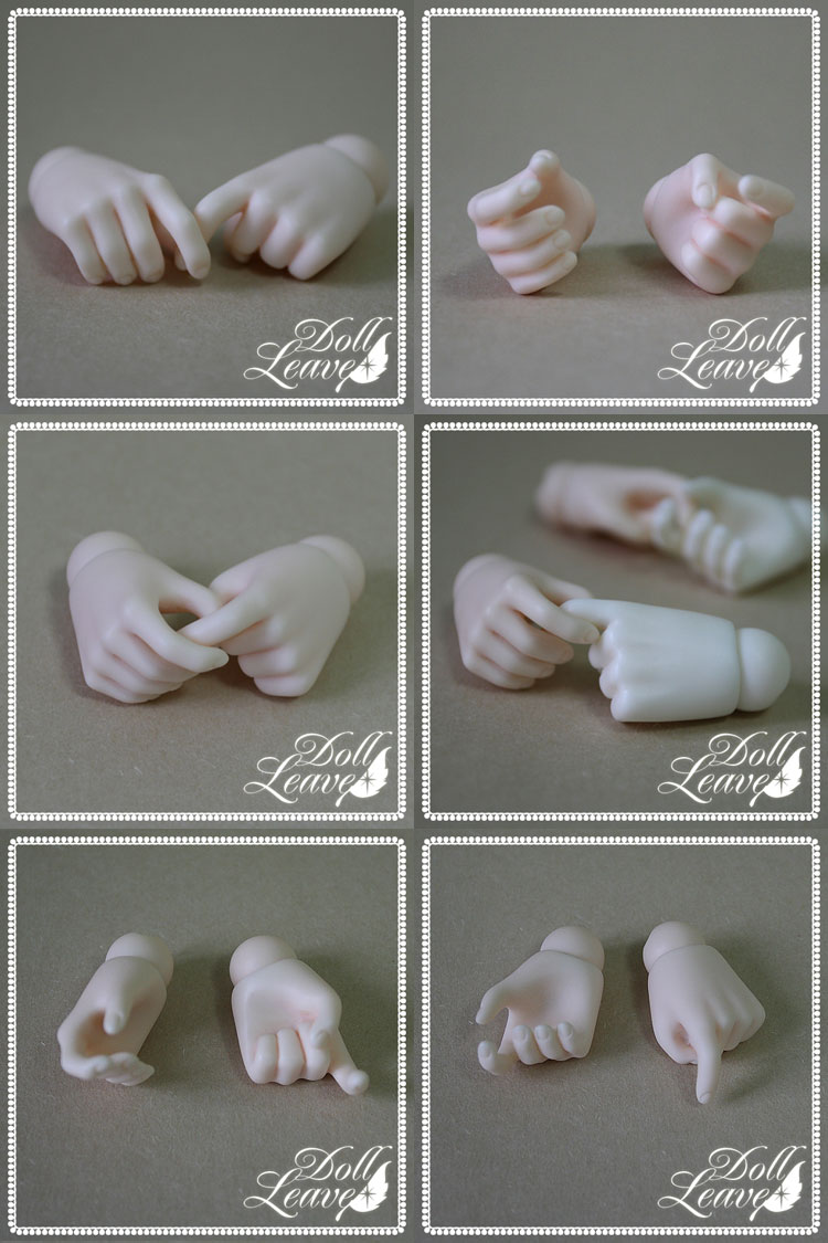 BJD Hand parts for 45cm Ball-jointed doll