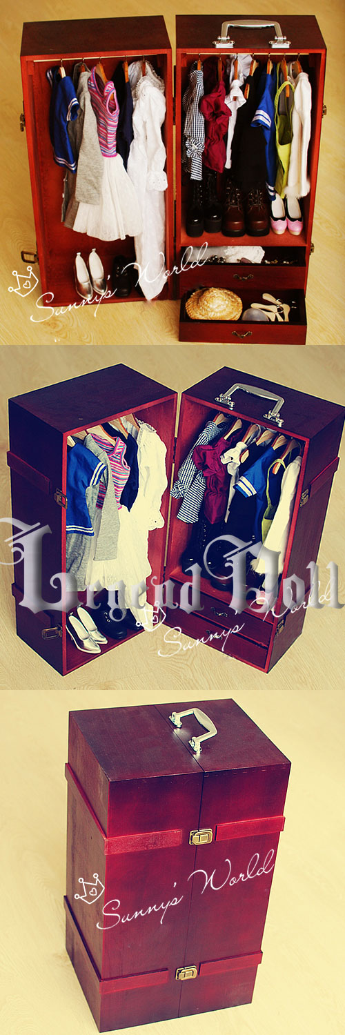 BJD Interior Locker for SD Size Ball-jointed Doll