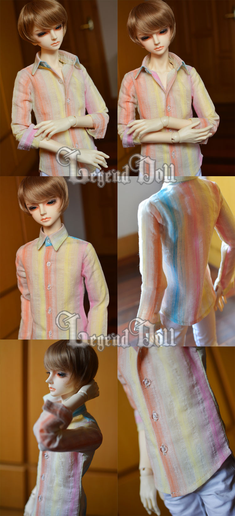 BJD Clothes Shirt A012 for MSD/SD/70cm Size Ball-jointed Doll