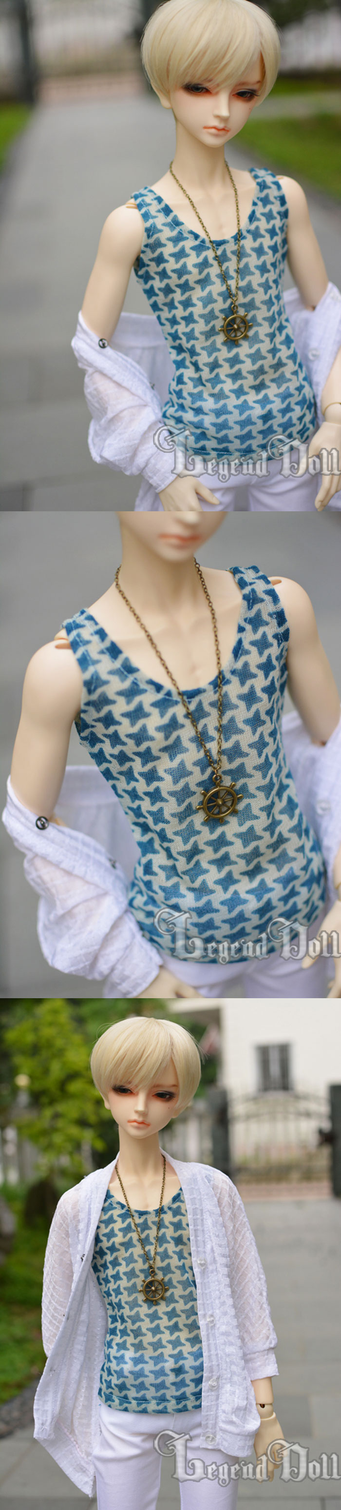 BJD Clothes Shirt A061 for MSD/SD/70cm Size Ball-jointed Doll