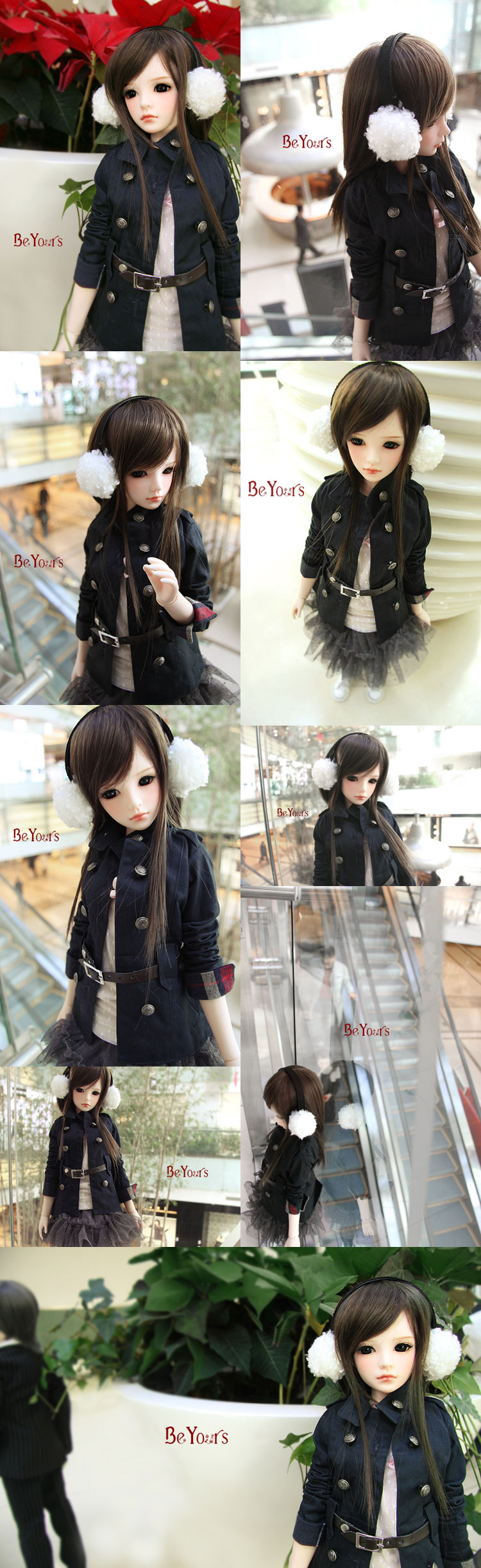 BJD Amber2 60.5cm Girl Ball-jointed doll