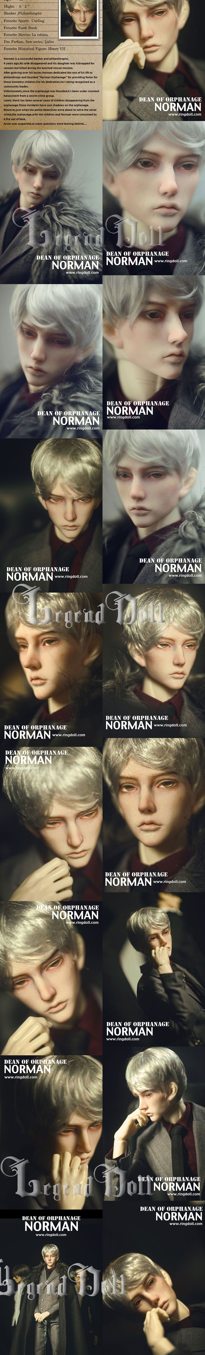 BJD Norman Light 2.0 Boy 70.5cm Ball-jointed Doll